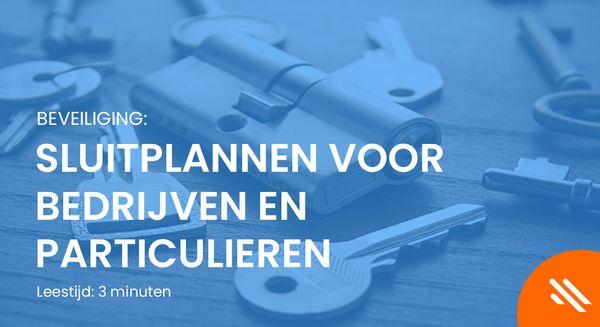Sluitplannen Voor Bedrijven En Particulieren